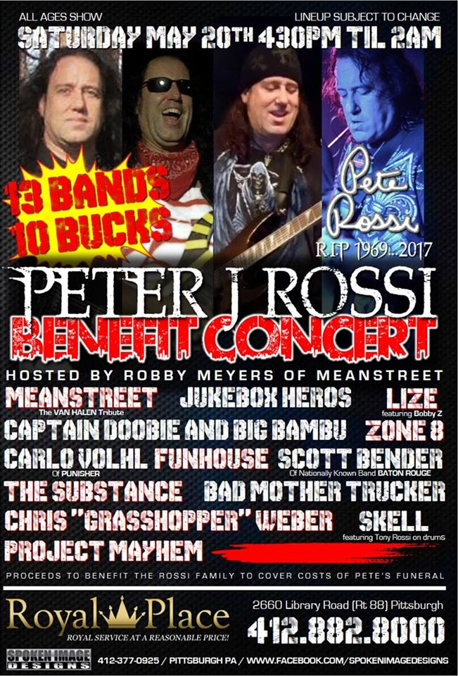 Pete Rossi Benefit Show