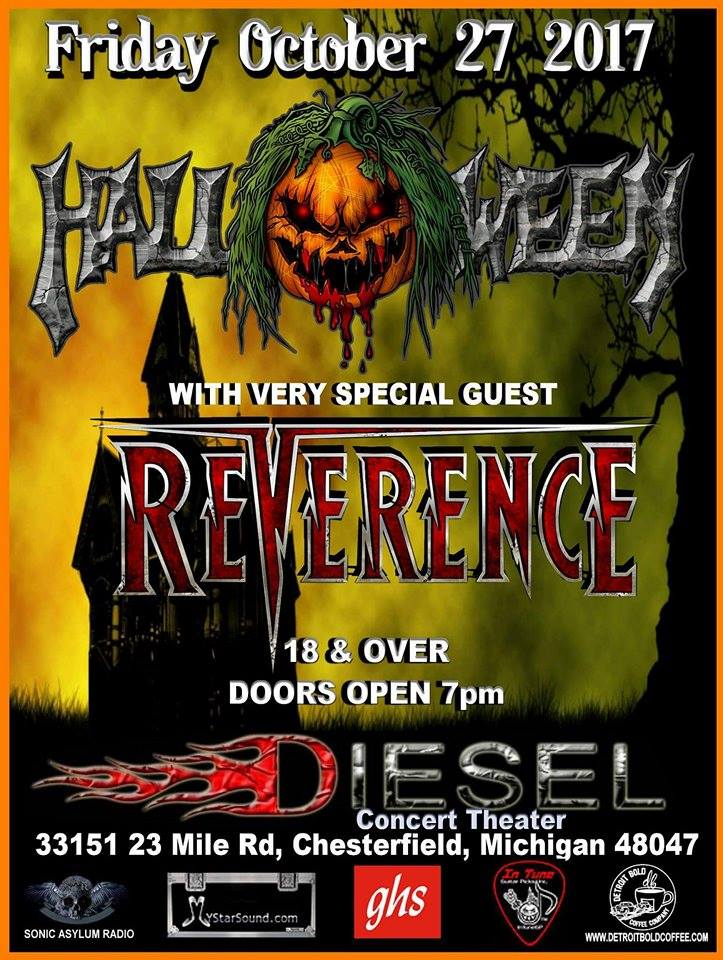 New Show – Diesel's Concert Theater Oct 27th 2017
