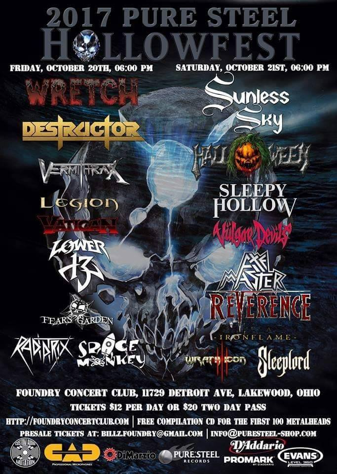 New Show – HollowFest Oct 21st 2017
